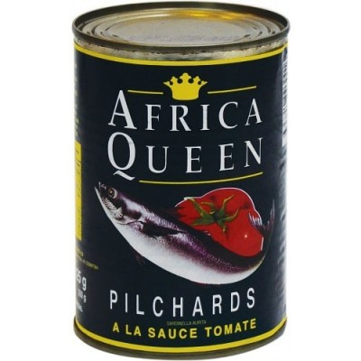 Africa Queen Pilchards In Tomato 425gr