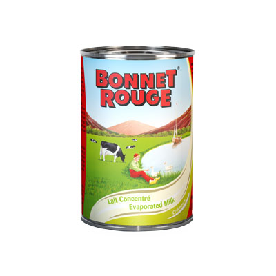 Leche Evaporado Bonnet Rouge 410gr