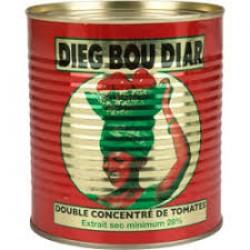 Senegal Dieg Bou Diar Tomate Concentrado 400gr
