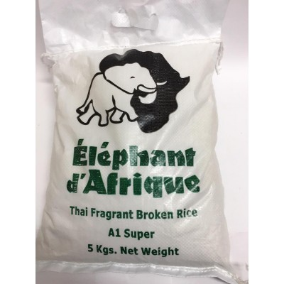 Elephant De Africa Broken 2 Cut Rice 5kg