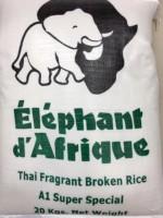 Elephant De Africa Broken 2 Cut Rice 20kg