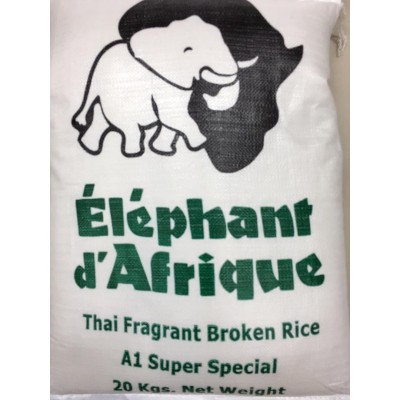Elephant De Africa Broken 2 Cut Rice 20kg