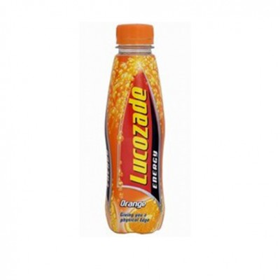 Lucozade Can Orange 330ml