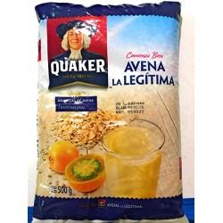 Quaker- Hojuelas De Avena La Legítima 500g