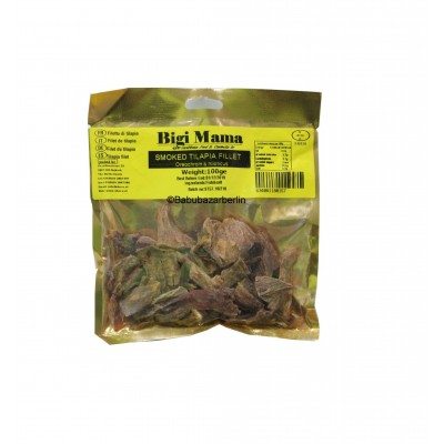Smoked Dried Tilapia Fillet 100gr