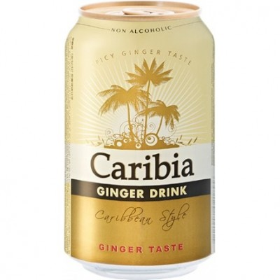 Ginger Cerveza Caribia Pack 330ml