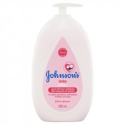 Johnson 'S Baby Lotion Con Aceite De Coco , 500 Ml