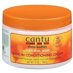 Cantu Shea Butter For Natural Hair Leave-In Conditioning Cream 340g