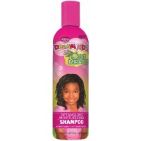African Pride Dream Kids Olive Miracle Detangling Shampoo, 340g