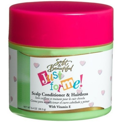 Just For Me Scalp Conditioner & Hairdress, 96ml Jars