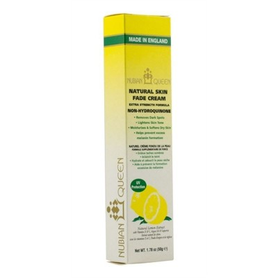 Nubian Queen Skin Lemon Natural Cream 50gr