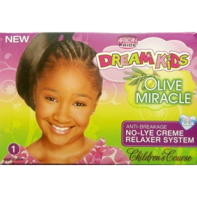 African Pride Dream Kids Olive Relaxer Kit Super