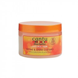 Cantu Natural Hair Define & Shine Custard 12oz