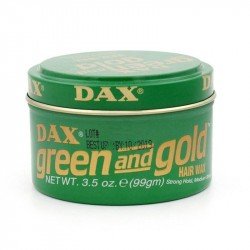 Dax Green And Gold Wax 100 Gr