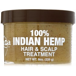 Kuza Indian Hemp Hair And Scalp Treatment, 8 Oz