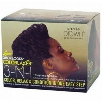 Luster's 3-N-1 Relaxer Kit Sable Brown
