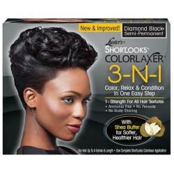 Luster's 3-N-1 Relaxer Kit Diamond Black