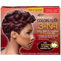 Luster's 3-N-1 Relaxer Kit Passion Red