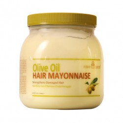 Nubian Queen Olive Oil Hair Mayonaise 37oz