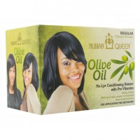 Nubian Queen Olive Oil No Lye Regular Relaxer