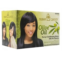 Nubian Queen Olive Oil No Lye Super Relaxer
