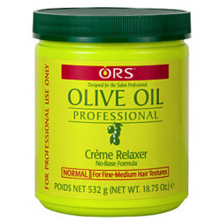 Organic Olive Oil Relaxer Jar Regular 532g