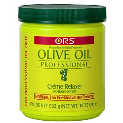 Organic Olive Oil Relaxer Jar Regular 532g