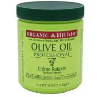 Organic Olive Oil Relaxer Jar Super 532g