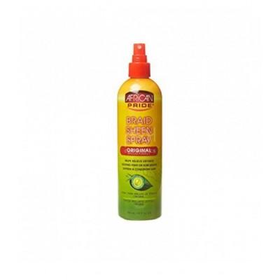 African Pride Braid Sheen Spray Extra Shine 355 Ml
