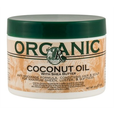 Jr Organics Coconut Oil With Shea Butter 227g