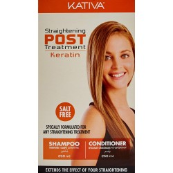 Kativa Kit Post Alisado X2 Unidades