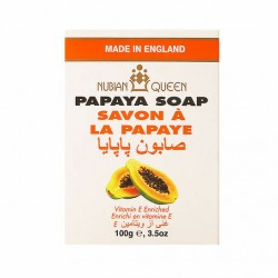 Nubian Queen Papaya Soap 100g