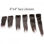 BRAZILIAN HAIR 4X4 FULL LACE CLOSURE