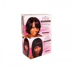 Pink Hair Relaxer Kit Normal