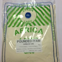 Pounded Yame Africa Lady 1kg